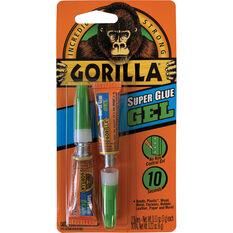 Gorilla Superglue Gel - 2 Pack, , scaau_hi-res