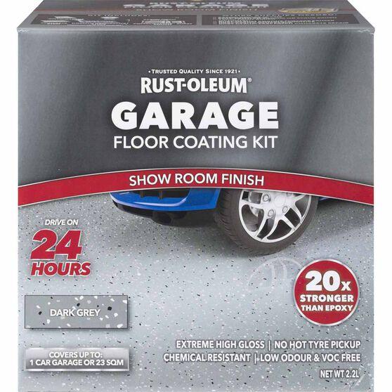 Rustoleum Dark Grey Floor Kit 1-Car Garage | Supercheap Auto