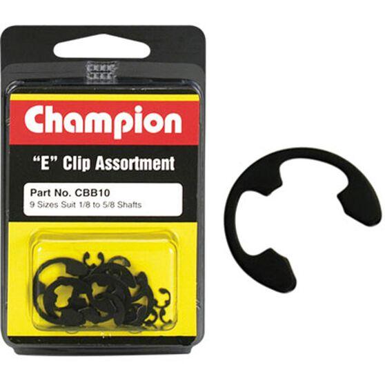 Champion E Clip Assortment - 1 / 8-5 / 8, CBB10, , scaau_hi-res