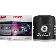Ryco Syntec Oil Filter Z632ST (Interchangeable with Z632), , scaau_hi-res