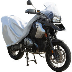 CoverALL Motorcycle Cover - Essential Protection - Suits Medium Motorcycles, , scaau_hi-res