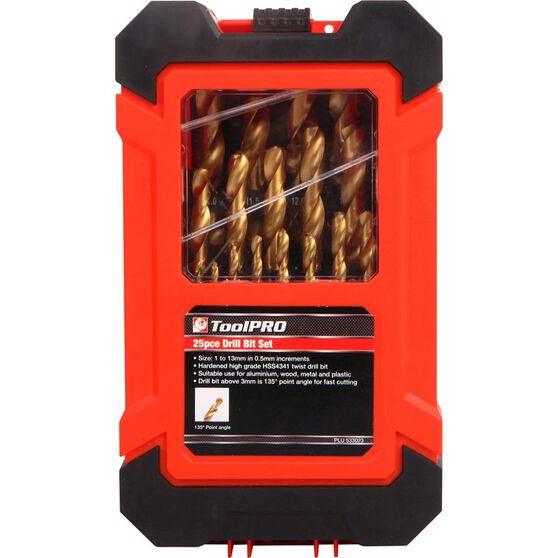 ToolPRO Drill bit set - 25 Piece, , scaau_hi-res