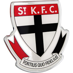 St Kilda AFL Supporter Logo - Lensed Chrome Finish, , scaau_hi-res