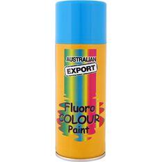 Export Enamel Aerosol Paint - Fluro Horizon Blue, 125g, , scaau_hi-res