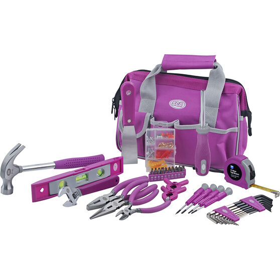 SCA Tool Kit with Bag 53 Piece Purple, , scaau_hi-res