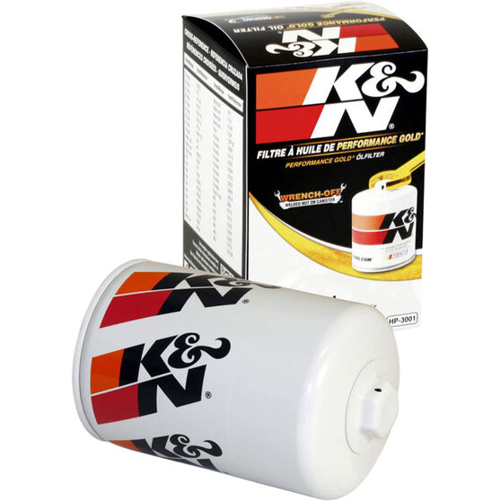 K&N Wrench Off Performance Gold Oil Filter  HP-3001 (Interchangeable with Z9), , scaau_hi-res