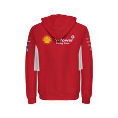 Shell V-Power Racing Team Junior 2020 Zip Hoodie, Red, scaau_hi-res