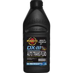 Automatic Transmission Fluid - DX-III, 1 Litre, , scaau_hi-res