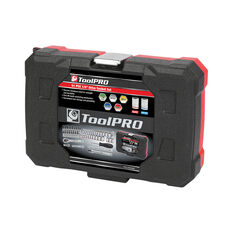 "ToolPRO Socket Set 1/4"" Drive Metric/SAE 51 Piece, , scaau_hi-res"