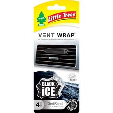 Little Tree Vent Wrap Air Freshener - Black Ice, , scaau_hi-res