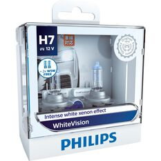 Philips WhiteVision Headlight Globe - H7, 12V, 60/55W, , scaau_hi-res