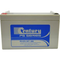 Rechargeable Battery -  PS 670, 6V 7Ah, , scaau_hi-res