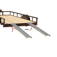 Loading Ramps, Steel, Pair - 400kg, , scaau_hi-res