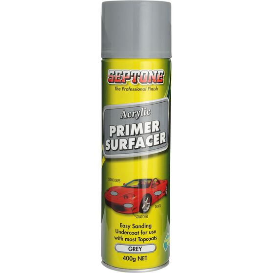Primer Surfacer - Grey Acrylic, 400g, , scaau_hi-res