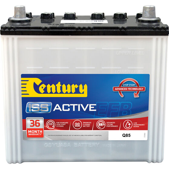 Century ISS Active Stop/Start Car Battery Q85, , scaau_hi-res