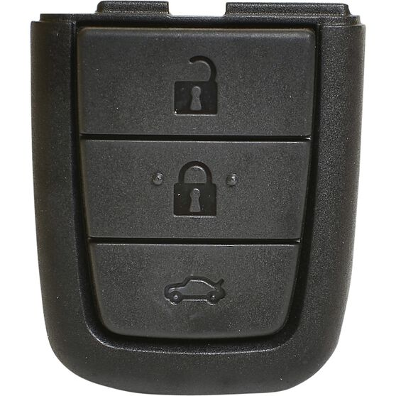 MAP Key Remote Button Replacement - Suits Holden Commodore VE, 3 Button, KF213, , scaau_hi-res