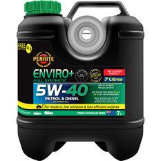 Penrite Enviro+ Engine Oil 5W-40 7 Litre, , scaau_hi-res