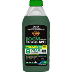 Penrite Green OEM Coolant Premix  1 Litre, , scaau_hi-res