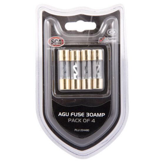 SCA Audio Fuse - 30Amp, 4 Pack, , scaau_hi-res