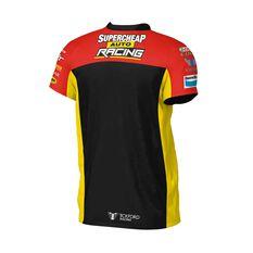 Supercheap Auto Racing Men's 2020 Team T-Shirt Black S, Black, scaau_hi-res