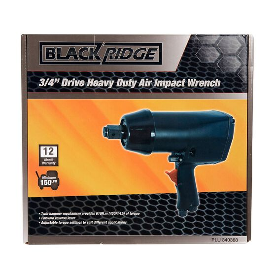 """Blackridge Heavy Duty Air Impact Wrench - 3/4"""" Drive, , scaau_hi-res"""