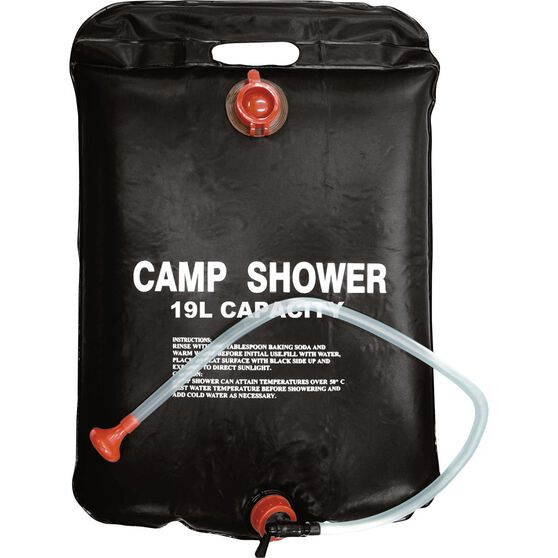 Ridge Ryder Solar Camp Shower - 19 Litre, , scaau_hi-res