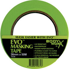 Bodyworx EVO Masking Tape - 36mm x 50m, , scaau_hi-res