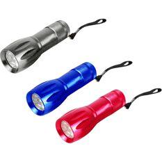 Torch - Aluminium, 9 LED, 3 Pack, , scaau_hi-res