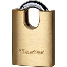 Master Lock Padlock - Shrouded Brass, 40mm, , scaau_hi-res