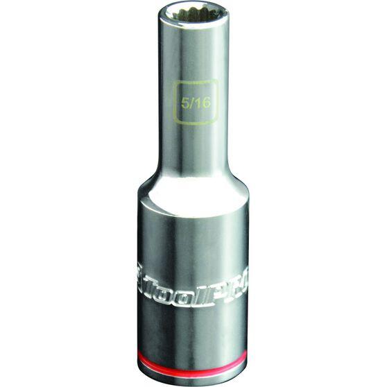 ToolPRO Single Socket - Deep, 1 / 2 inch Drive, 5 / 16 inch, , scaau_hi-res