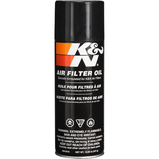 K&N Air Filter Oil 99-0516 384mL, , scaau_hi-res