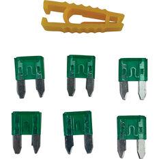 SCA Fuse Mini Blade - 30 AMP, 6pce, , scaau_hi-res