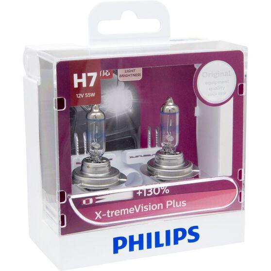 Philips Headlight Globe, X-tremeVision - H7, 55W, , scaau_hi-res