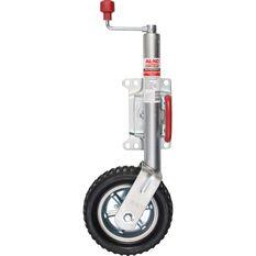 AL-KO 10 Inch Swivel Premium Jockey Wheel, , scaau_hi-res