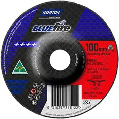 Norton Grinding Disc - 100mm  x  6mm  x  16mm, , scaau_hi-res