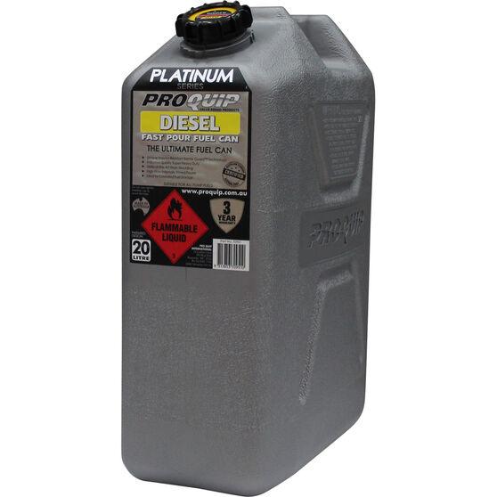 Pro Quip Platinum Diesel Jerry Can - 20 Litre, , scaau_hi-res