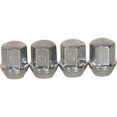 Wheel Nuts - Tapered, Chrome - For Holden Commodore VF, 14X1.5MM, , scaau_hi-res