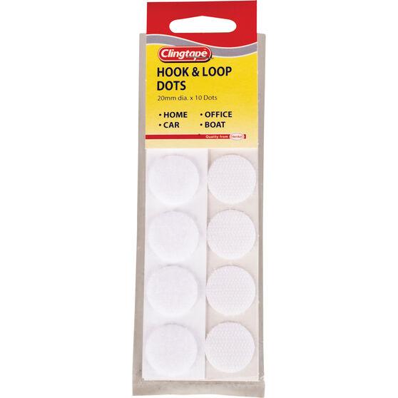 Hook & Loop - Dots, 20mm, , scaau_hi-res