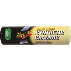 Meguiar's Soft Buff Synthetic Chamois - 68cm X 44cm, , scaau_hi-res