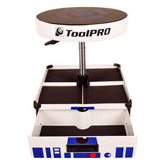 ToolPRO Roller Seat with Drawer, Limited Edition, Robot Design, , scaau_hi-res