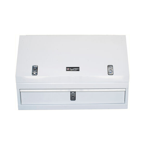 ToolPRO Truck Box White Single Drawer, , scaau_hi-res