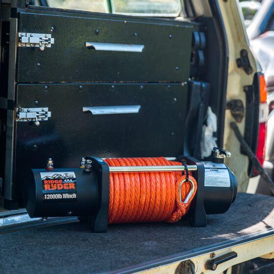 Ridge Ryder Electric Winch - 12V, 12000lb, , scaau_hi-res