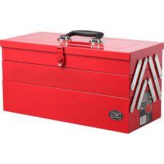 Tool Box - Metal, Cantilever 5 Tray, , scaau_hi-res