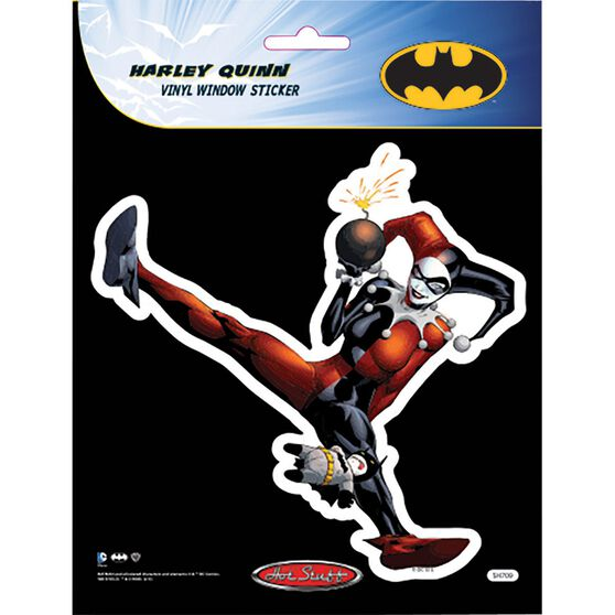 Hot Stuff Sticker - Harley Quinn, Vinyl, , scaau_hi-res