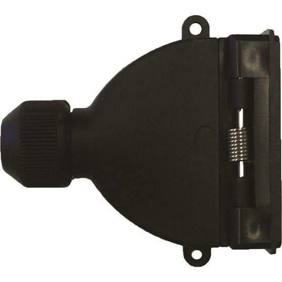 SCA Trailer Socket, Plastic - Flat, 7 Pin, , scaau_hi-res