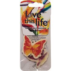 LTL Butterfly Chain Air Freshener - Peach, , scaau_hi-res