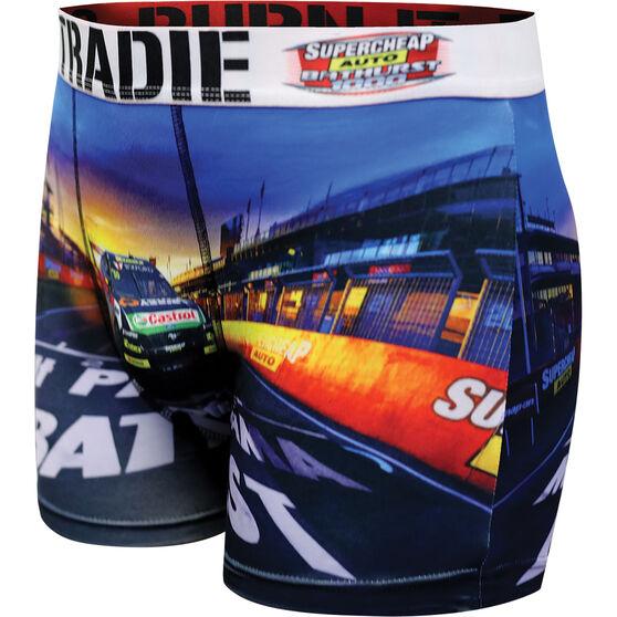 Tradie Mens Bathurst Startline Trunks, Startline, scaau_hi-res
