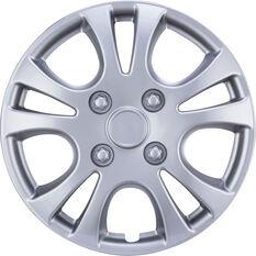 Best Buy Wheel Covers - Horizon, 13 inch, Silver, 4 Piece, , scaau_hi-res