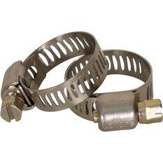 Calibre Hose Clamps - 11-20mm, 2 Pieces, , scaau_hi-res