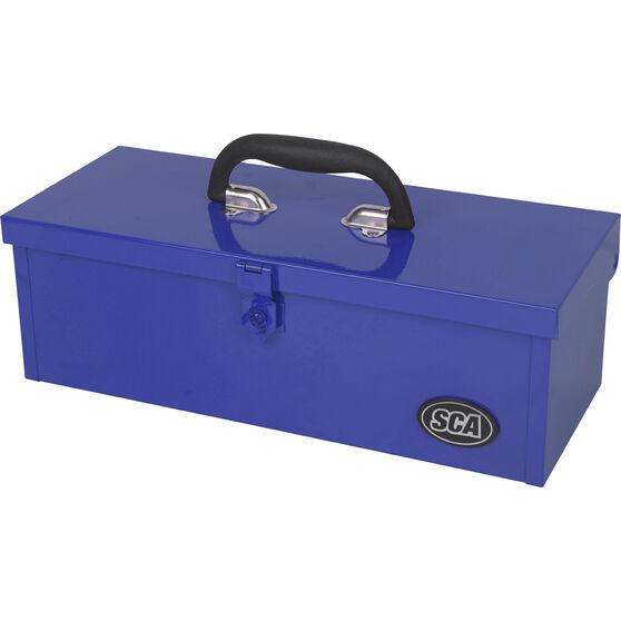 SCA Metal Tool Box - Blue, , scaau_hi-res